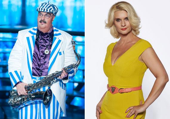 Janza Katát sem ismertük volna fel, ha nem tudjuk, neki kellett Bergendy István bőrébe bújnia. Végül a színésznő lett a TV2 műsorának első távozója.