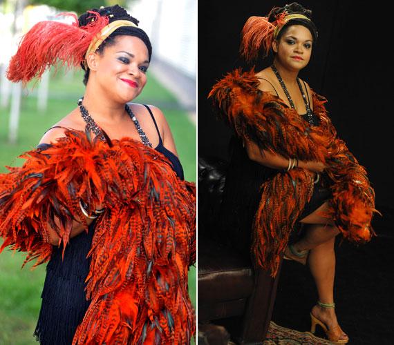 Sena, az Irie Maffia énekesnője Eta James Something's Got a Hold on Me című soulslágerével készült.