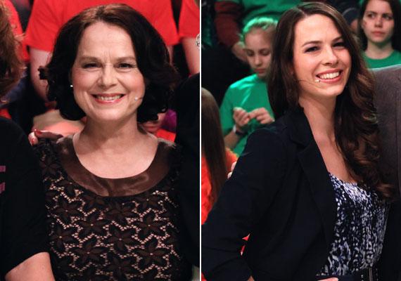 Hűvösvölgyi Ildikó Kossuth-díjas színésznő lánya, a 27 éves Kisfaludy Zsófia közgazdászként végzett, végül mégis színészi pályára lépett. A Macskák jubileumi, 30 éves előadásán együtt szerepeltek a színpadon.