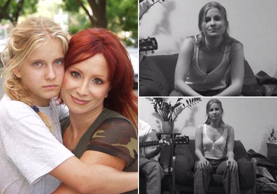 A szöszi kislányból felnőtt nő lett, Détár Enikő és Rékasi Károly lánya, Gigi már 26 éves. Rékasi Eszter videóját ide kattintva nézheted meg »