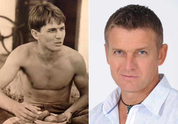 Rékasi Károly 30 évvel ezelőtt, kezdő színészként első filmjében, illetve a Barátok közt Bartha Zsoltjaként.