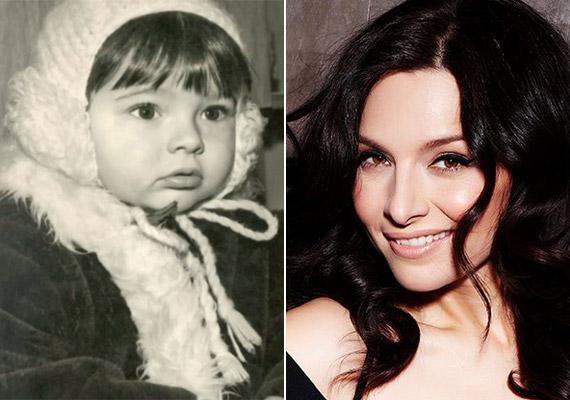 """Az énekesnő Zséda saját bevallása szerint is """"csajos"""" kislány volt - ezt a régi felvételt látva biztosan nem nézték soha kisfiúnak."""