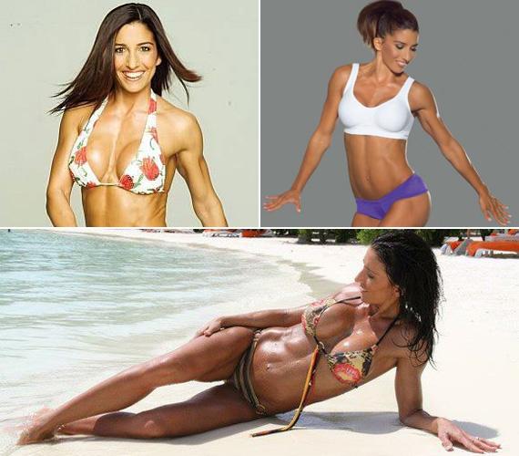 Rubint Réka oldala is tartalmaz néhány bikinis fotót.