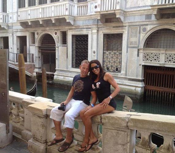 Ellátogattak Velencébe, a szerelem városába is.