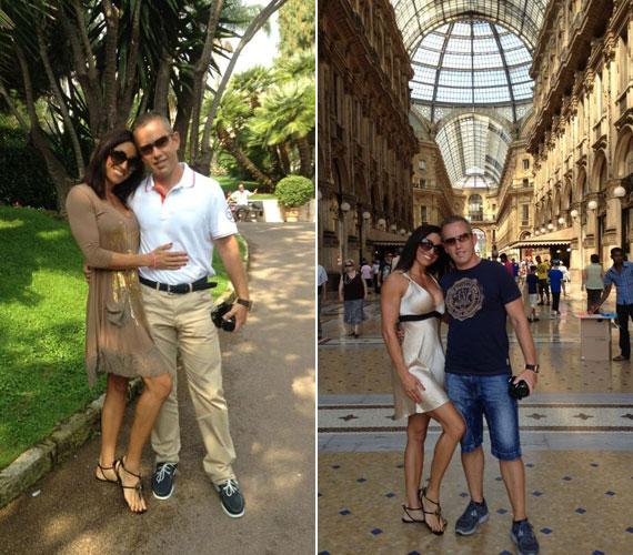 A szabadban és Milánó monumentális kulturális épületei között egyaránt remekül érezték magukat.