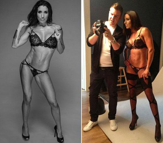 A 28 éves sztárról úgy két hónapja Kasza Tibor készített szexi fotókat.