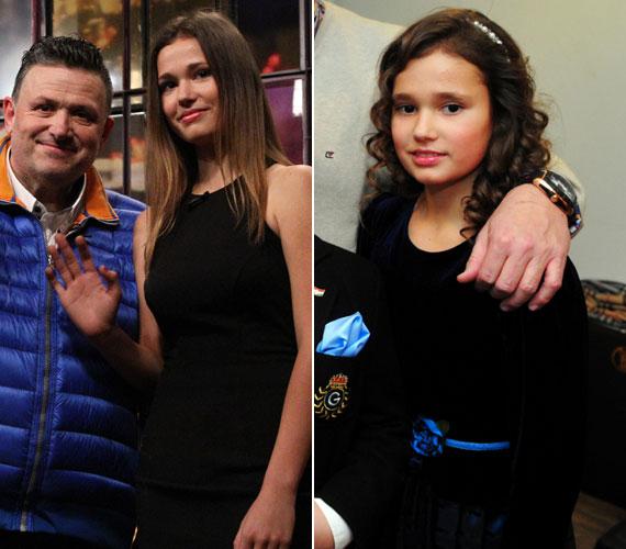 Galambos Lajos lányát, Boglárkát 2011 év elején láttuk, ehhez képest igencsak meglepődtünk, amikor tavaly ősszel egy 15 éves nagylány jelent meg a zenész oldalán a Frizbi című műsorban.