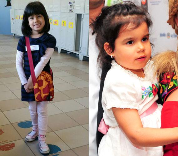 Gombos Edina hat és fél éves kislánya az ősszel megy iskolába, édesanyja maga is alig hiszi el, hogy a kis Mirandával már azt nézegetik, hova írassák be.
