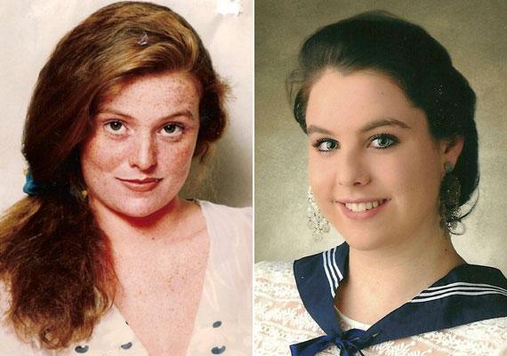 Ha egymás mellé tesszük Hámori Eszter színésznő fiatalkori képét és Bajor Imrétől született lánya, Bajor Lili érettségi tablóképét, a hasonlóság nagyon szembetűnő. A 19 éves Lili a Színművészeti hallgatója.