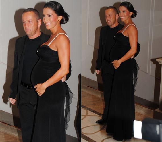 A Schobert házaspár legkisebb gyermeke, Zalán 2011 márciusában jött világra, így az az évi Story-gálán Rubint Réka nagy pocakkal volt látható.
