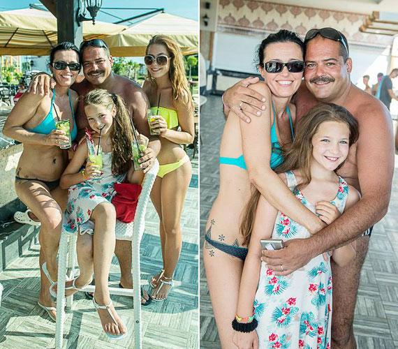 Rubint Rékát egész családja elkísérte Törökországba, így bátyja, Rubint Robi, és annak családja is: a feleség és a két lány, Rella és Rebeka.