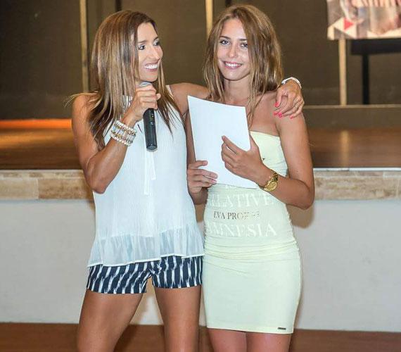 A 37 éves Rubint Réka és a 18 éves Rubint Rella - ő a fitneszkirálynő testvérének, Robinak az idősebbik lánya. Nemcsak a sport szeretetét örökölte nagynénjétől, de láthatóan ugyanazért a ruhamárkáért is rajonganak.