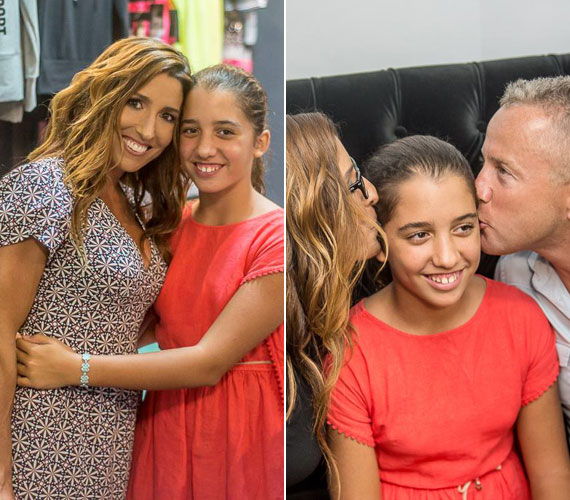 A Schobert családot a házaspáron kívül lányuk, Lara is képviselte, akit hol édesanyjával, hol mindkét szülővel lencsevégre kaptak.