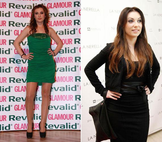 A 2010-es Glamour-gálán egy zöld miniruhában jelent meg, míg a 2012-es La Nerella divatbemutatóján egy térd fölött végződő fekete ruhát viselt, amit bőrövvel és bőrtáskával dobott fel.