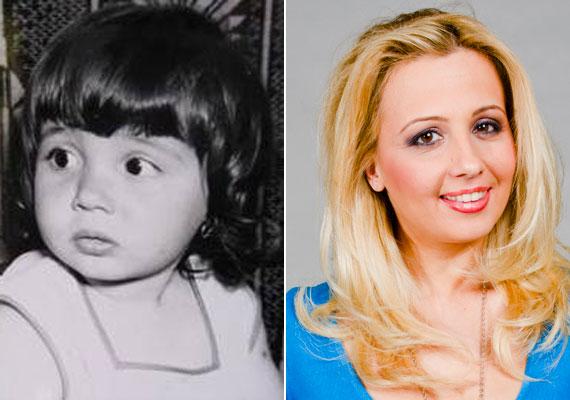Gombos Edina ezzel a felvétellel szerette volna megmutatni, hogy a lánya, Miranda bizony rá is ütött.