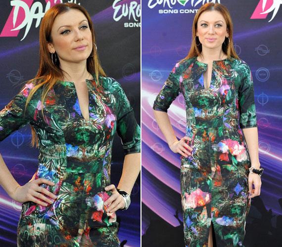 A jövő évi Eurovíziós Dalfesztivál magyar válogatójának sajtótájékoztatóján a képen látható vagány ruhában volt a fotótok kedvence. További fotókért kattints ide »