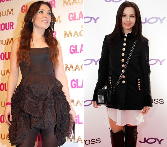 A két énekesnő egy-egy magazin partiján is kitett magáért: Rúzsa Magdit nem sűrűn láthattuk olyan rövid szoknyában, mint amilyet az idei Glamour-gálára választott. Zséda a Joy magazin 15 éves szülinapi partiján lenge, fehér ruhájához egy katonás kabátot húzott, a szigorúságot pedig a combcsizmával váltotta szexire.
