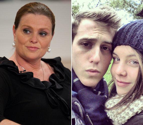 Hámori Eszter 26 évesen lett először édesanya. A színésznőnek 1995. november 15-én született meg Lili lánya, akit pontosan egy év múlva, 1996. november 15-én követett Marcell fia. A két gyerek édesapja a néhai Bajor Imre.