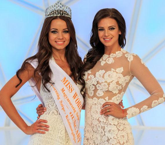 Sarka Kata és a Magyarország Szépe győztese, Kiss Daniella, aki nemcsak a 2015-ös Miss World Hungary, de a közönségdíjat is ő nyerte, illetve az online szavazáson ő lett a legszebb mosolyú lány.