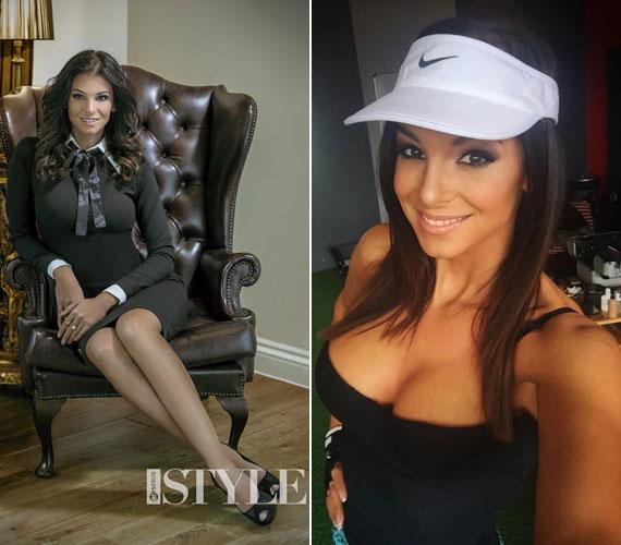 Elegánsan és sportos ruhában - Sarka Kata a bal oldali képen csak első ránézésre decens, a jobb oldalin nem is kérdés, hogy dögös-e.
