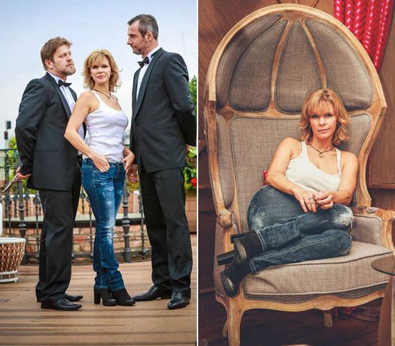 A Thália Színház januárban bemutatásra kerülő darabjában a popdívát alakító Schell Judit két ismert arccal áll a színpadra. Partnerei Szabó Győző és Pindroch Csaba lesznek.