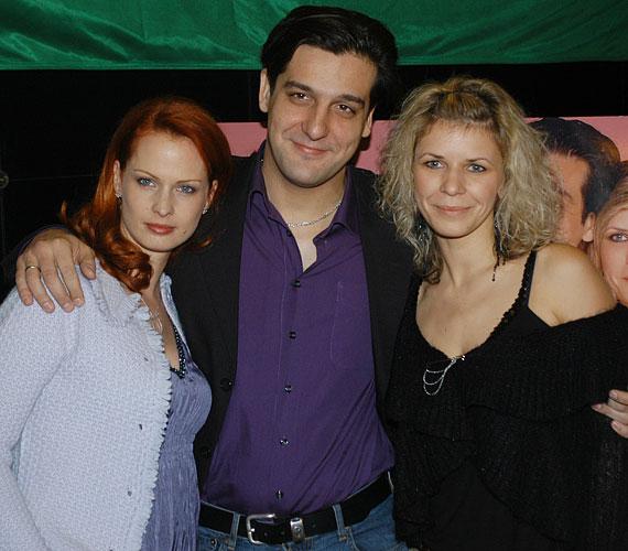 A Csak szex és más semmi című filmben Csányi Sándor és Dobó Kata partnere volt a vásznon - hét év elteltével pedig most újra a sármos színész oldalán láthatják a nézők, ezúttal az Esküvőtől válóperig című darabban.
