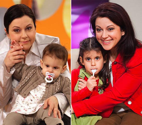 A 47 éves Erdélyi Mónikának két lánya van, a nagyobbik, a 21 éves Viktória, előző házasságából született. Az a kapcsolat sajnos hamar megromlott, akkori férje még Viki csecsemőkorában magukra hagyta őket. A tévés második kislánya 2008-ban született Mukli Gyula zenésztől, akivel Olívia Johanna egyéves korában váltak szét.