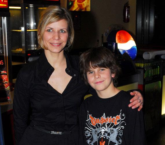 Schell Judit két fiú édesanyja, Lászlónak 21 évesen adott életet, Boldizsár pedig 2008-ban látta meg a napvilágot.