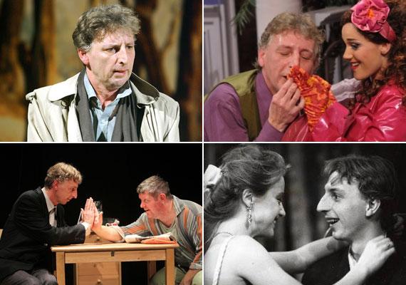 A 2008-ban Jászai Mari-díjjal kitüntetett színész 1987-től 1993-ig a Madách Színház, 1996 és 2013 között a József Attila Színház tagja volt. Az utóbbi tagjaként két alkalommal kapta meg a József Attila-gyűrűt. 2004-ben Nívódíjat, 2007-ben pedig Kaló Flórián-emlékdíjat kapott.