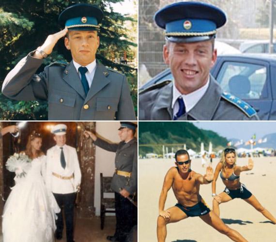 Schobert Norbi 1998-ban századosként szerelt le, amikor döntenie kellett, hogy tévében szereplő aerobikedző vagy rendőr akar lenni. Április elején árulta el, hogy már volt egy felesége Rubint Réka előtt.