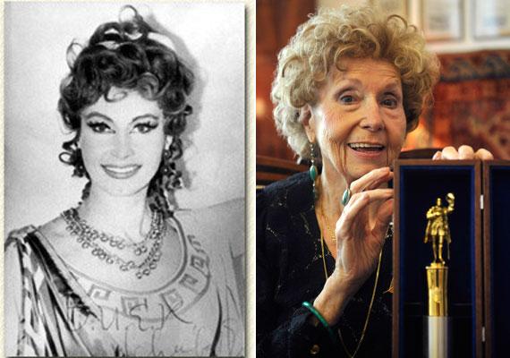 Az Abigél Gigus tanárnőjeként és a Szomszédok Lillácskájaként is vonzó nő volt, fiatalon pedig még több férfi bolondult érte - a fotó Plautus Szamárvásár című darabjának 1966-os előadásából származik.