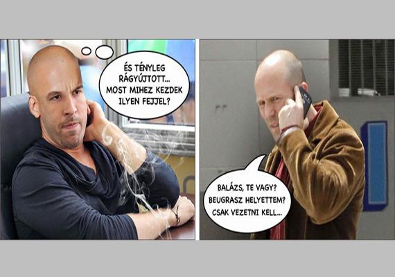 Jövőbeli képregény arról, hogy mi történne, ha Rákóczi Feri mégis rágyújtana, és erről Sebestyén Balázs csak utólag értesülne: megcsörrenne a telefon, a vonal túlsó végén pedig a szállító, Jason Statham beszélne.