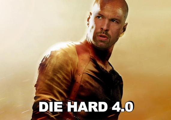 Mások úgy gondolják, hogy a műsorvezető olyan lenne kopaszon, mint a népszerű akciósztár, Bruce Willis a Die Hard-filmekben.