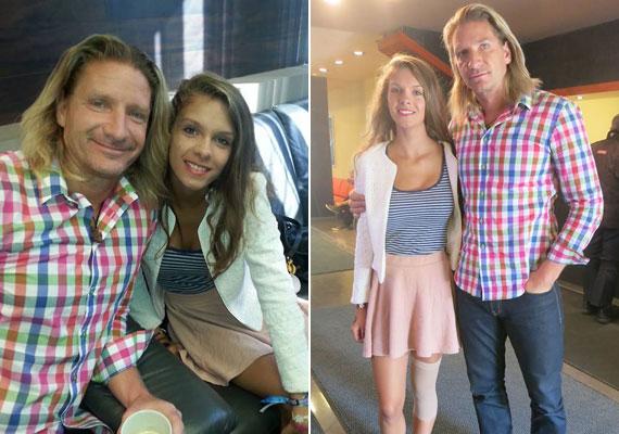 16 éves szépséggé cseperedett Janza Kata és Pintér Tibor lánya, aki a hétfői Mokkában szerepelt.