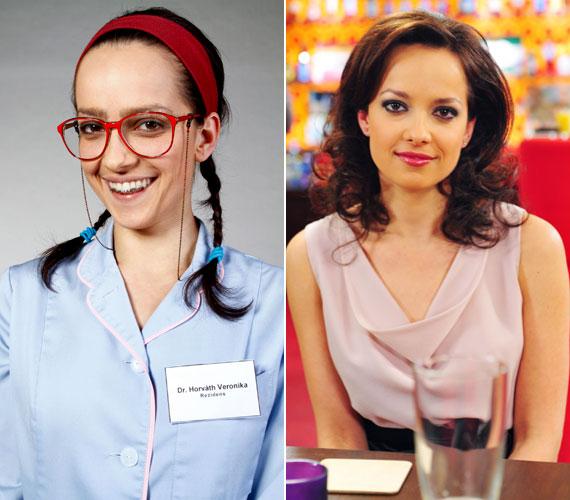 Kondákor Zsófia a Jóban Rosszban csúnyácska rezidenseként került a sorozatba, ahol mára olyan csinos, dekoratív nő, mint a való életben.