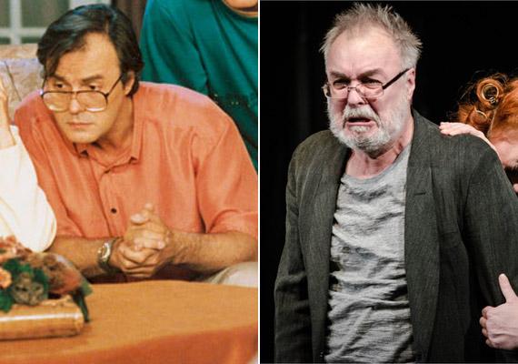 A dr. Szép Károlyt alakító Ádám Tamás már 63 éves, és - Kárász Zénóhoz hasonlóan - a Szegedi Nemzeti Színház társulatának tagja.