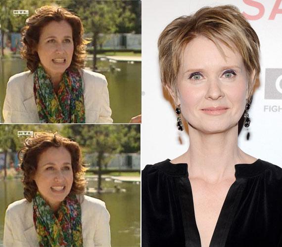 Bertalan Ágnes 2012 októberében az újonnan indult kereskedelmi csatorna, az RTL II hangja lett. Cynthia Nixonról, aki Miranda Hobbest alakította, májusban, az 5. SAVOR estjén készült a felvétel.