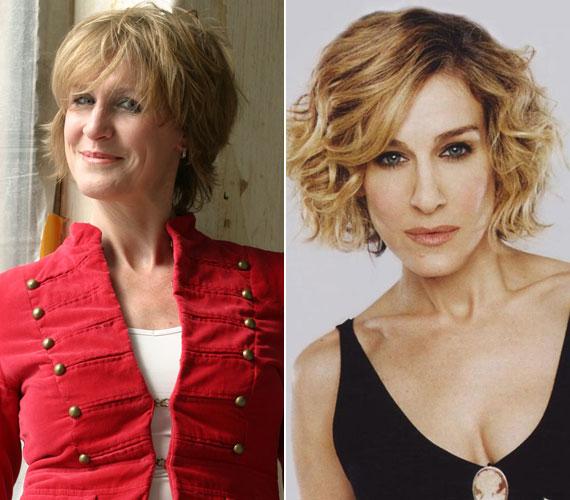Korábban, amikor a magyar színésznőnek is hosszabb volt a haja, nagyon hasonlított az egyébként vele egyidős világsztárra: mindketten 1965-ben születtek.