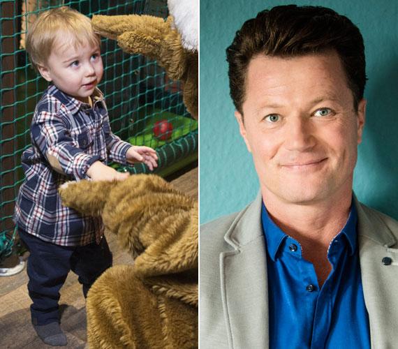 Stohl András egy szem kisfia 2013 júniusában látta meg a napvilágot. Három kislány után a színész a fiús apaságba is belekóstolt.