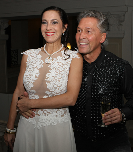 Fésűs Nelly és Vajtó Lajos  Már a pár szakításáról is pletykáltak, azonban úgy tűnik, hogy a színésznő és gyermeke apja kapcsolata harmonikusabb nem is lehetne.