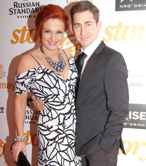 Keleti Andrea és Kovács Zoltán  A táncművész házaspár szemmel láthatóan két évtized után is az egyik legboldogabb magyar sztárpár.