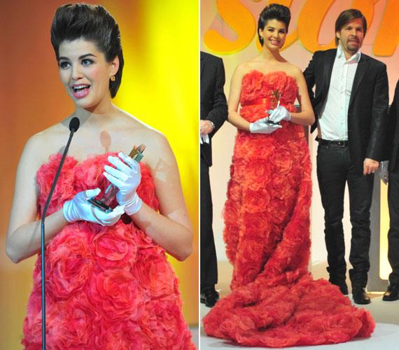 Ördög Nóra első gyermekével volt várandós, amikor 2013-ban átvehette az Év műsorvezetőnője díjat. Mici május 6-én látta meg a napvilágot.