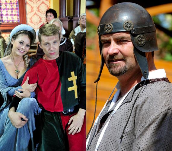 A szép hercegnők és udvarhölgyek kegyeiért természetesen megküzdöttek a lovagok, így Bozsó Péter vagy Tóth Roland is. Utóbbinak a 40. születésnapja épp a forgatások idejére esett.