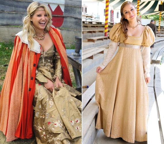 Braghini Rozina, vagyis Bodolai Orsi megformálója egy hasonló árnyalatú ruhát húzhatott fel, mint Szabó Zsófi.