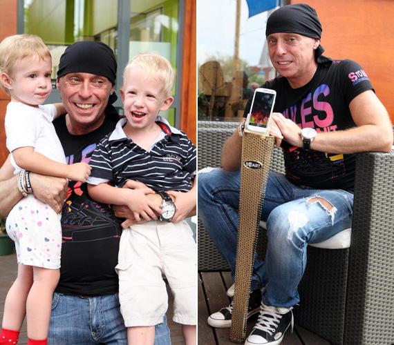 DJ Dominique-nak, akiről köztudott, hogy buzgón támogatja a nemes ügyeket, a játék közben meglepetésvendégei érkeztek: húga elhozta a lemezlovas kétéves keresztgyermekeit, az ikerpár Zsuzsit és Zolikát.
