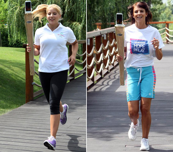Szabó Zsófi most megmutathatta, hogy a hónapok óta tartó joggingolással mennyire vált edzetté. Vajon gyorsabb volt, mint barátnője?
