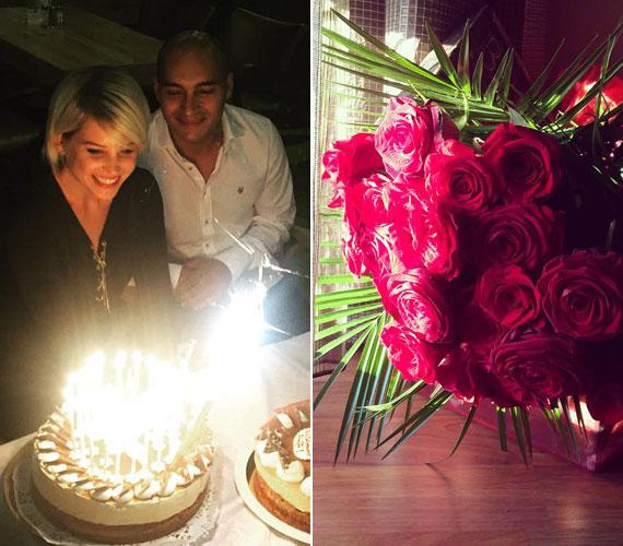 Szabó Zsófi 2015. szeptember 22-én ünnepelte a 27. születésnapját. Szerelmétől egy 27 szálból álló vörös rózsacsokrot és természetesen tortát is kapott.