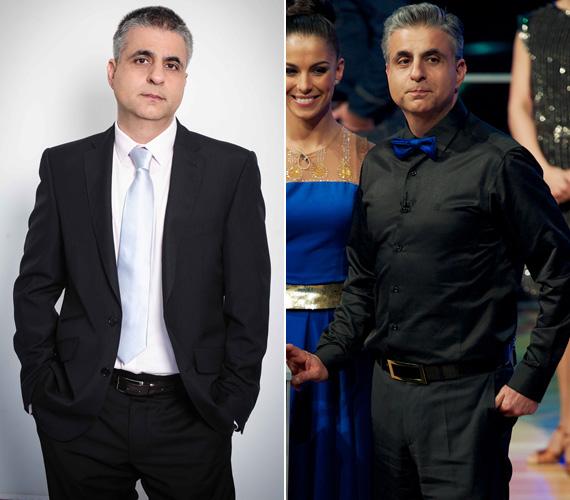 Máté Kriszta híradós férjén, Bárdos Andráson is meglátszott a táncos showműsorban való szereplés. Az edzésnek és a megváltozott táplálkozásnak köszönhetően hat-hét kilót adott le.
