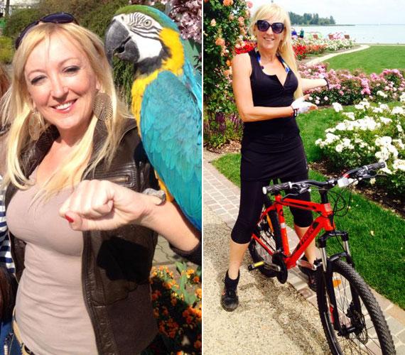 Kandász Andrea, a TV2 Kalandjárat című magazinjának műsorvezetője már tavasz közepére jó pár kilót leadott, a sok mozgásnak köszönhetően júniusra pedig vékonyabb lett, mint valaha.