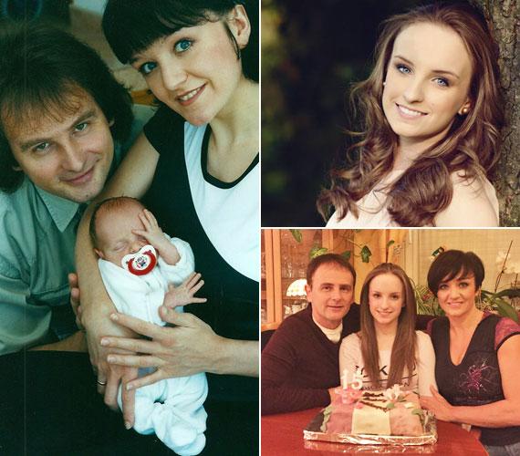 Pontosan kilenc hónappal az esküvőjük után, 2000. március 11-én világra jött egy szem lányuk, Blanka.